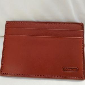 Vintage Coach Credit Card Case